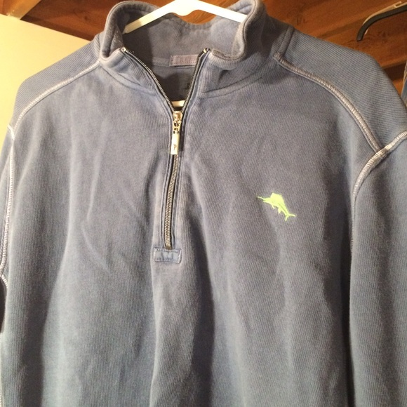 83% off Tommy Bahama Other - Tommy Bahama Antigua Cove Half-Zip ...