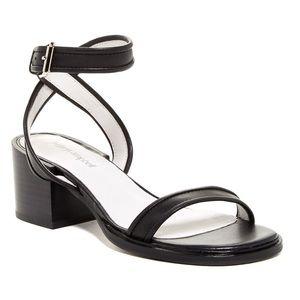 Jeffrey Campbell Shoes - Jeffrey Campbell 'Melgar' Black Ankle Strap Sandal