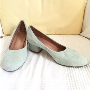 Jeffrey Campbell Shoes - JEFFREY CAMPBELL BITSIE SUEDE HEEL