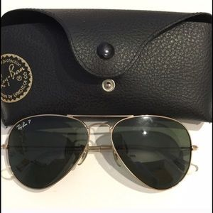 Accessories - Authentic Ray Ban Polarized, great condition.