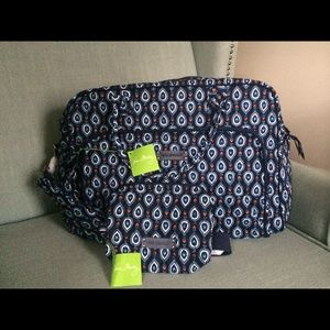 NWT Vera Bradley Marrakesh Motif travel set