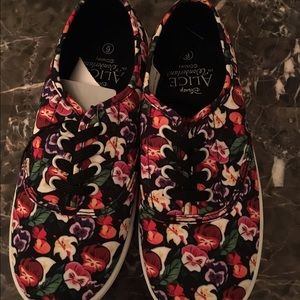 Shoes - Alice through the looking glass sneakers size 6