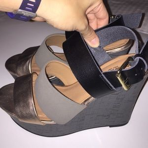 Mossimo wedges 8.5