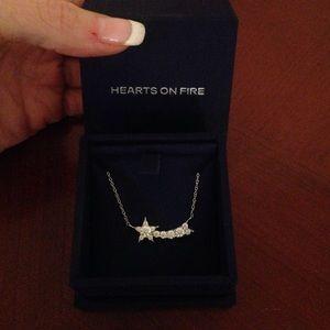 Hearts on Fire Illa Comet diamond necklace