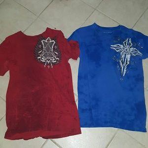 Affliction Other - Bundle Archaic Affliction t-shirt both size M.