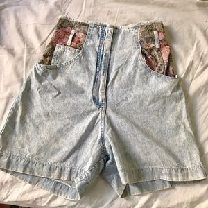 vintage  Pants - Vintage high waist shorts