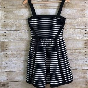 Juicy Couture black and white striped dress size 4