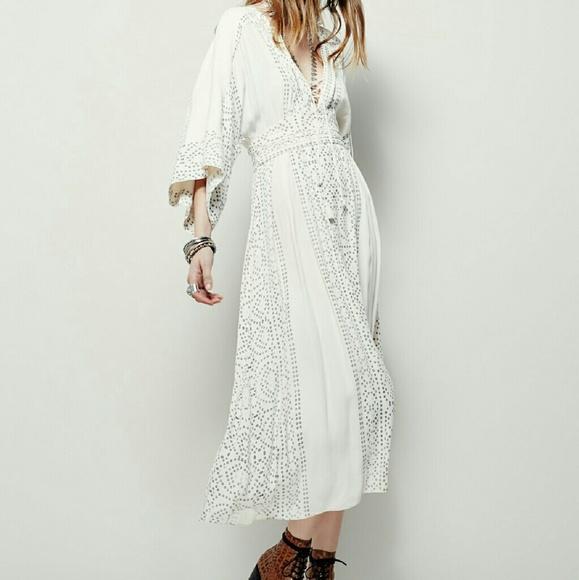 f6d2a92e3af6 NEW Free People Pearl Modern Kimono Dress