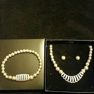Avon Necklace, Bracelet & Earring Set