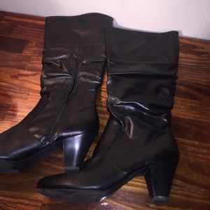 FIONI Clothing Shoes - Tall black boots