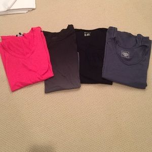 Tops - Bundle of 4 large short sleeve tee shirts