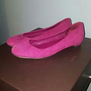 Gucci Shoes - GUCCI 38 maroon ballet flats size 8 8.5