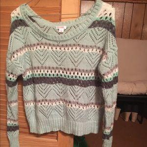 Target crop top sweater