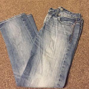 Men's BKE carter jeans. Straight fit