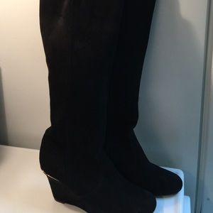 Tory Burch Shoes - Tory Burch smooth suede boots excellent condition!
