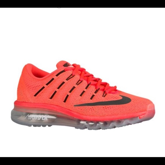 newest 7d236 aa3da Nike Air Max 2016 Neon Orange Shoes! M 583f7cf92599fe7f950037fe