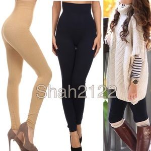 Pants - High waisted compression tummy control leggings OS