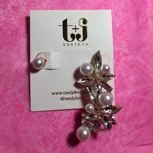 T&J Designs Jewelry - 💎💕Earcuff and Stud set💕💎