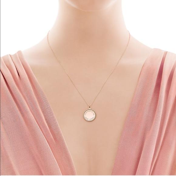 64 Off Tiffany Amp Co Jewelry 🌸tiffany Twist Round Charm