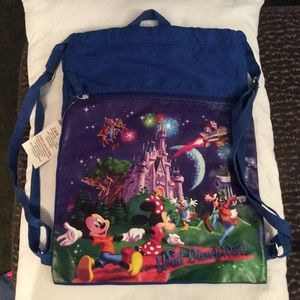 Disney World Cinch sack Backpack