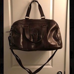 Wilsons Leather Other - Wilsons Leather Dakota Zip Closure Leather Duffel