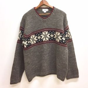 J. Crew Other - J Crew wool holiday winter sweater