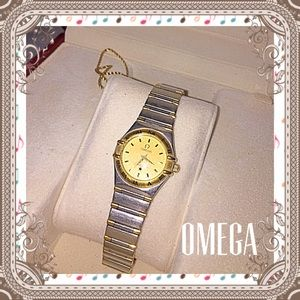 Omega Jewelry - Omega two toned ladies watch!!