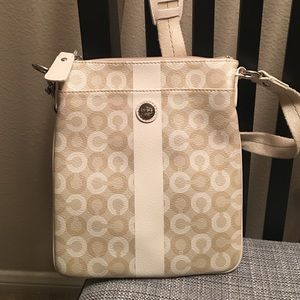 Coach Leather Waverly Swing Pack!