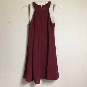 She and Sky Dresses & Skirts - Maroon red dress