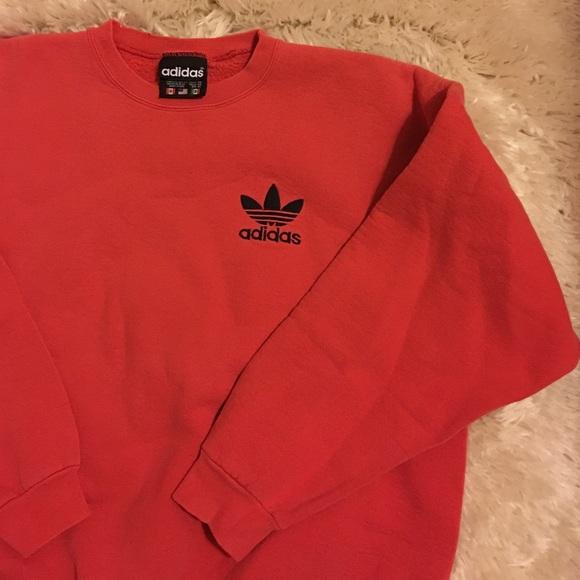 Men's vintage Adidas crewneck sweater Sz XL