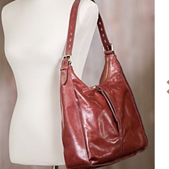 48% off HOBO Handbags - HOBO Marley Bag in Mahogany Leather from ...