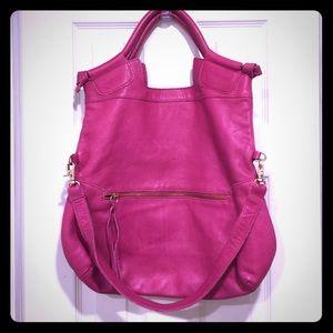 Foley + Corinna Handbags - Foley + Corinna large city bag purse pink