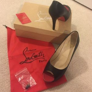 """Christian Louboutin Shoes - Priced to SELL- """"Very Prive"""" Louboutins"""