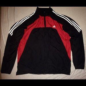 Adidas Track Jacket (Red/Black/White) Men's XL