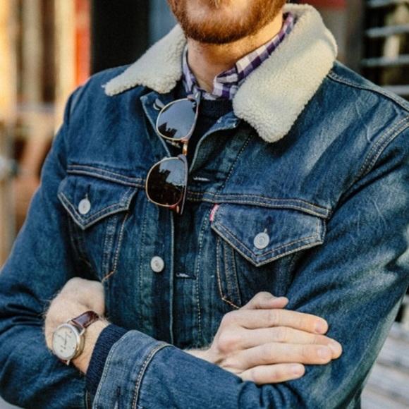 Levi S Jackets Amp Coats Hp Levis Mens Sherpa Jacket