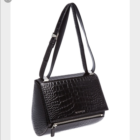 6fd3ca81be Givenchy Bags | Medium Croc Embossed Pandora Box Bag | Poshmark