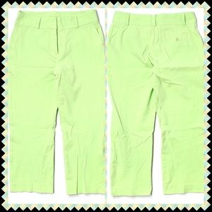 EXCELLENT CONDITION🌴Green Lilly Pulitzer Capris🌴