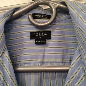 J crew men's button down dress shirt. Size S