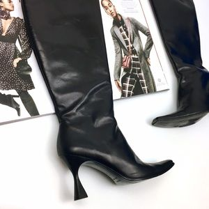 Escada Shoes - 🎁Escada Black Leather Boots