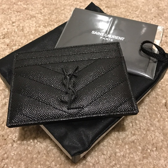1cf095b10c4 Yves Saint Laurent Accessories | Ysl Card Holder | Poshmark