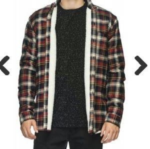 Globe Other - Men's Flannel Buttoned Jacket