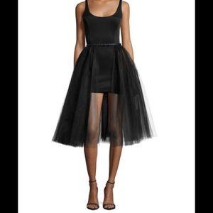Halston Heritage Dresses & Skirts - Halston Heritage Tulle Overlay