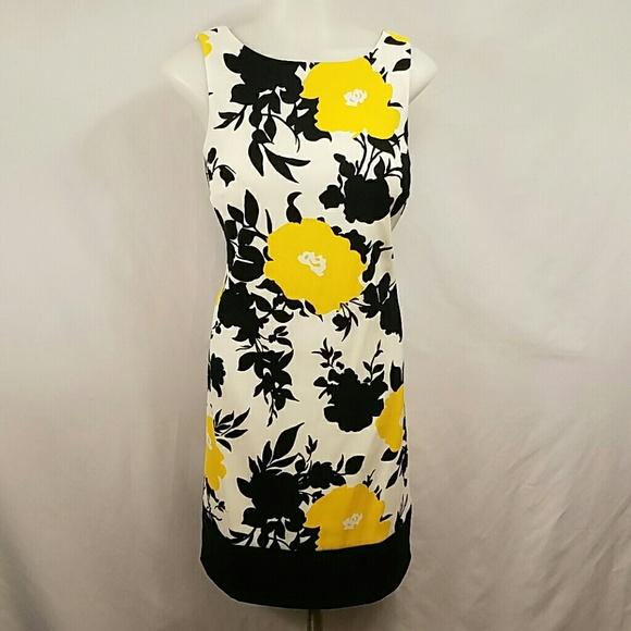 Off Ab Studio Dresses Skirts Ab Studio Black White Yellow