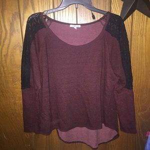 Charlotte Russe Sweaters - Maroon Sweater!