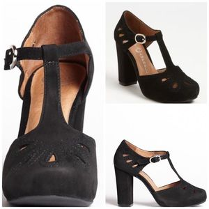 Jeffrey Campbell Shoes - Authentic Jeffery Campbell Maisie in black suede