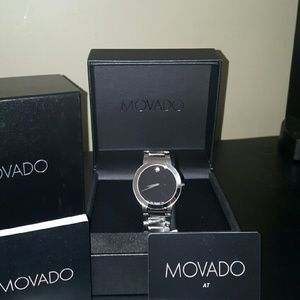 Movado  Other - NWT Movado $995 Stiri Stainless steel Men's watch