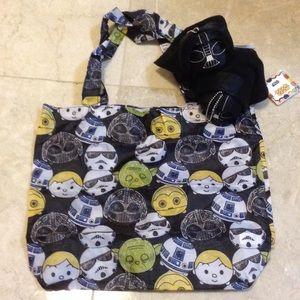 Disney Handbags - Disney Darth Vader tsum tsum Eco bag charm