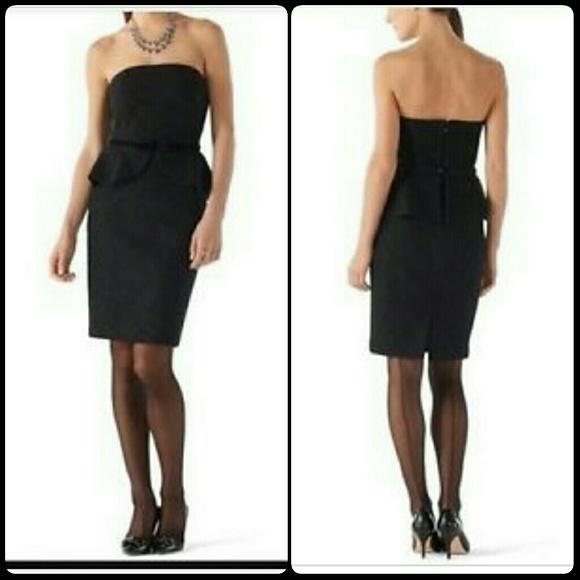 c6ad7304dc White House Black Market Dresses | Whbm Lace Peplum Dress W Velvet ...