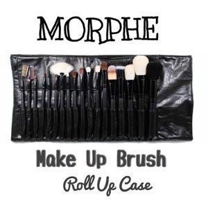 Morphe Handbags - 💄🆕 MORPHE 18 Slot Make Up Brush Roll ⬆️Case💄