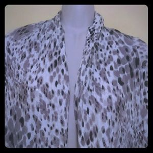 Cardigan/scarf Moda International multi wear